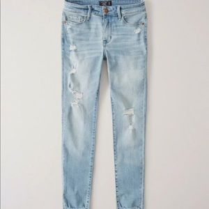 Abercrombie & Fitch Harper Ankle Jeans